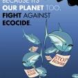 Stop Ecocide Plakatkampagne