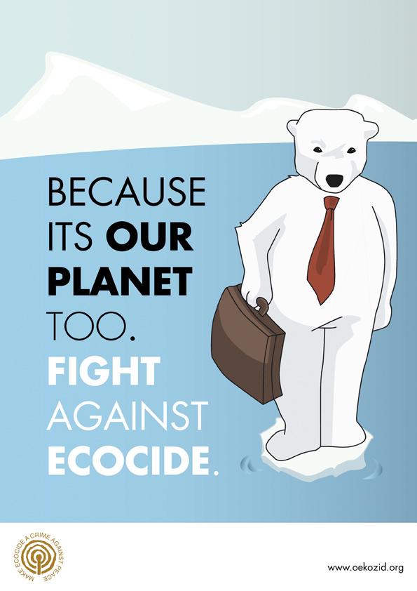 Wild Rebecca - Plakatserie Ecocide5