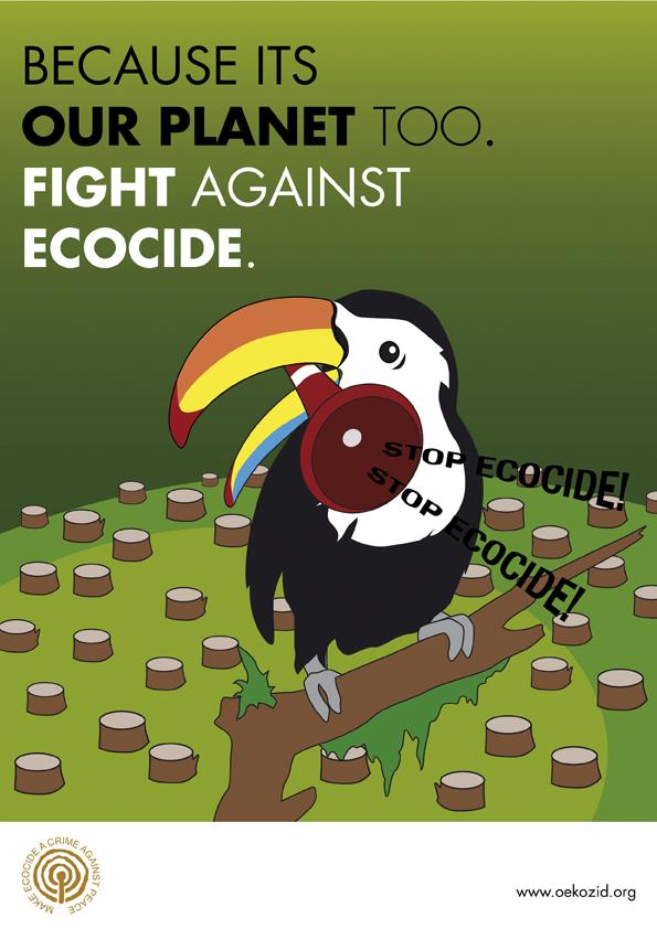 Wild Rebecca - Plakatserie Ecocide6