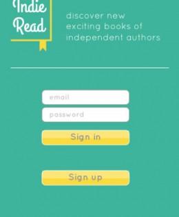 Indie Read App-Design + Konzept